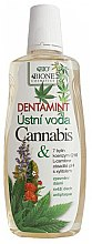 Духи, Парфюмерия, косметика Ополаскиватель для полости рта - Bione Cosmetics Dentamint Mouthwash Cannabis