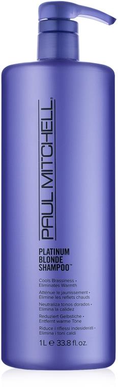 Шампунь для блондированных и натуральных светлых волос - Paul Mitchell Blonde Platinum Blonde Shampoo