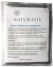 Духи, Парфюмерия, косметика Увлажняющая и освежающая криогенная маска для лица - Naturativ Face Mask