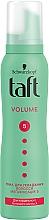 "Духи, Парфюмерия, косметика Пена-мусс для волос ""Объем"", мегафиксация 5 - Taft True Volume 5 Mousse"