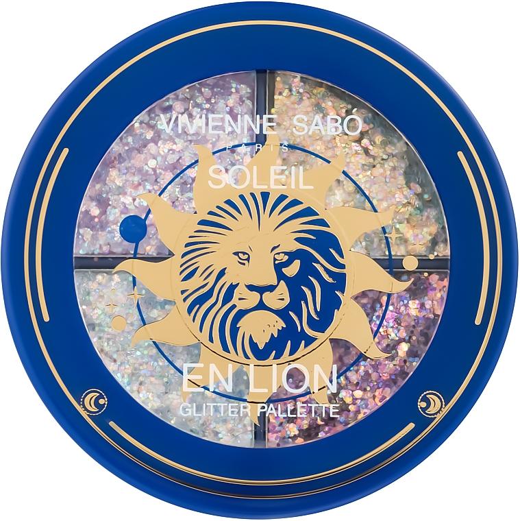 Палетка глиттеров - Vivienne Sabo Soliel en Lion Palette Glitter