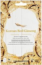 "Духи, Парфюмерия, косметика Маска для лица ""Корейский красный женьшень"" - Vitamasques Mask Korean Red Ginseng"