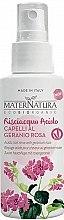 Духи, Парфюмерия, косметика Спрей для волос с фруктовыми кислотами - MaterNatura Acidic Hair Rinse with Rose Geranium
