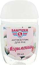 """Антисептик для рук """"Маршмеллоу"""" - Sanitizer — фото N1"""