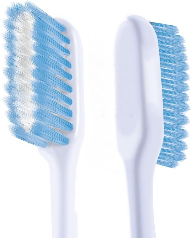 """Набор """"Шелковые нити 1+1"""", мягкая, голубая + желтая - Colgate Toothbrush — фото N6"""