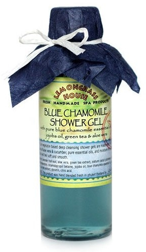 "Гель для душа ""Голубая ромашка"" - Lemongrass House Blue Chamolile Shower Gel"