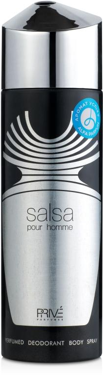 Prive Parfums Salsa Men - Парфюмированный дезодорант мужской