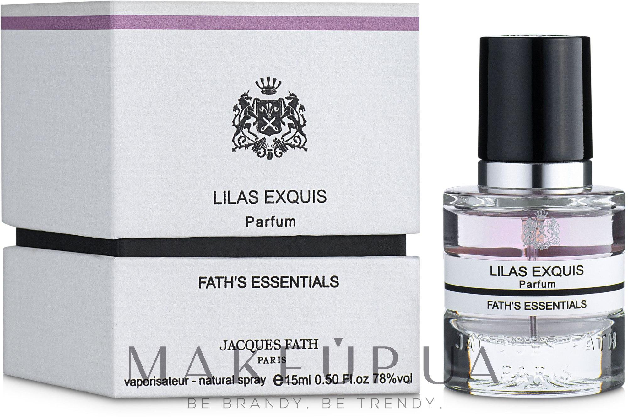 Jacques Fath Lilas Exquis - Духи — фото 15ml