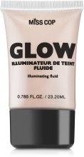 Духи, Парфюмерия, косметика Тональный флюид для лица - Miss Cop Glow Illuminateur de Teint Fluide