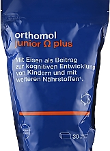 """Духи, Парфюмерия, косметика Витамины для детей """"Junior Omega Plus"""", жевательные ириски - Orthomol Immun"""