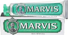 Духи, Парфюмерия, косметика Зубная паста - Marvis Classic Strong Mint