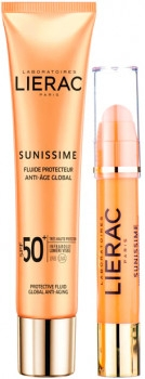 Набор - Lierac Sunissime Protective (sun/fluid/40ml + sun/eye/balm/3g)