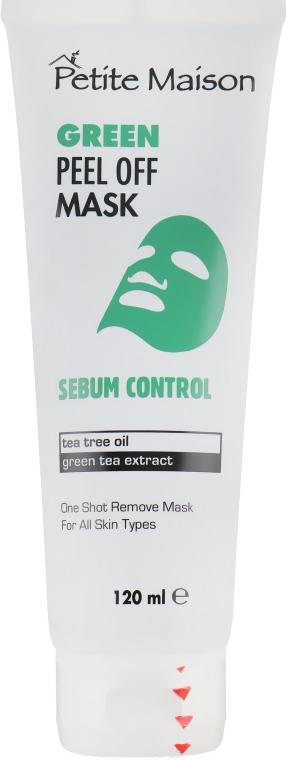 Нормализующая маска-пленка для лица - Petite Maison Sebum Control Green Peel Off Mask