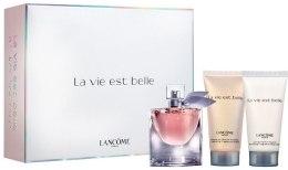 Духи, Парфюмерия, косметика Lancome La Vie Est Belle - Набор (edp/30ml + b/l/50ml + s/g/50ml)