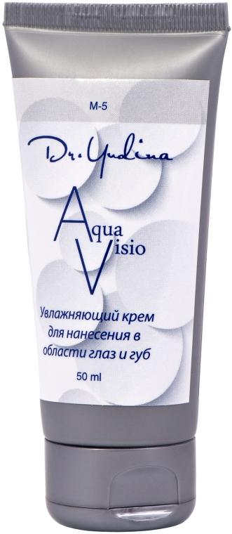 Крем увлажняющий для глаз и губ - Dr. Yudina Aqua-Visio