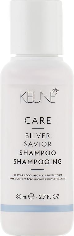 """Шампунь для волос """"Серебряный блеск"""" - Keune Care Silver Savior Shampoo Travel Size"""