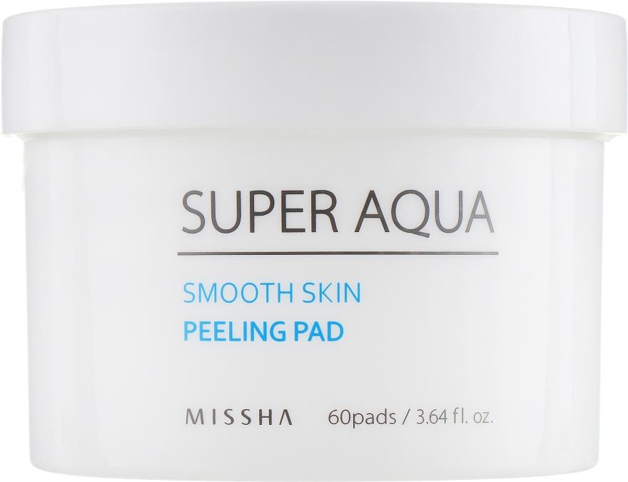 Пилинг-диски для лица - Missha Super Aqua Smooth Skin Peeling Pad