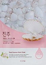 Духи, Парфюмерия, косметика Тканевая маска c жемчугом - Esfolio Pure Skin Pearl Essence Mask Sheet