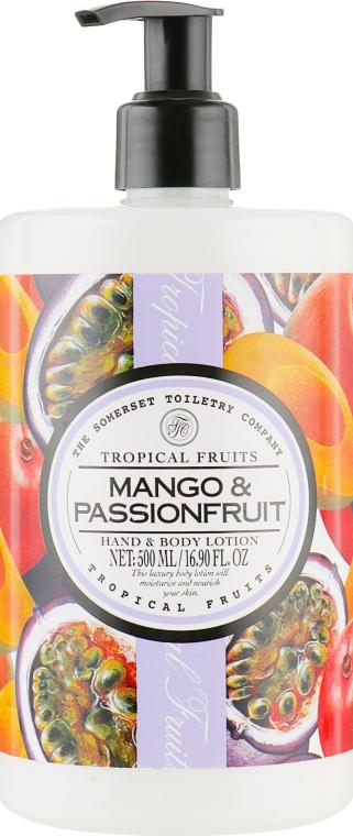 "Лосьон для рук и тела ""Манго и маракуйя"" - The Somerset Toiletry Co. Tropical Fruits"