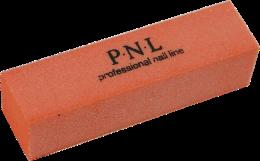 Духи, Парфюмерия, косметика Баф полировочный мягкий оранжевый - PNL Professional Nail Line