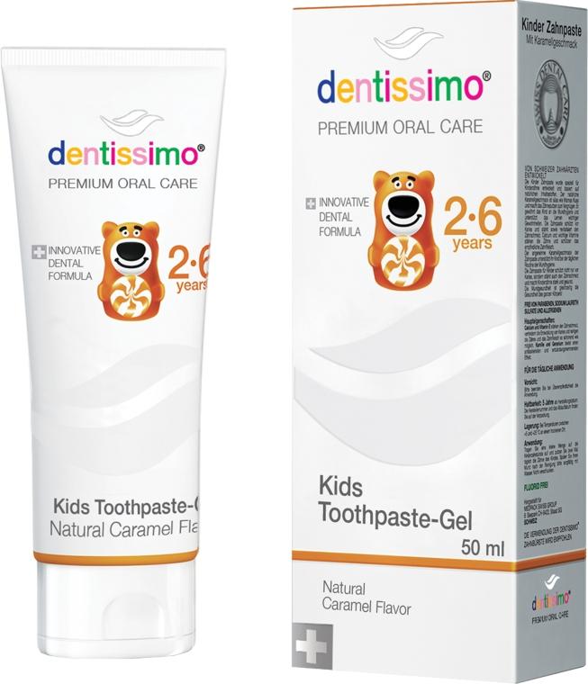 Зубная паста для детей - Dentissimo Kids Toothpaste Caramel