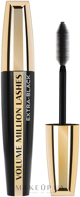 Тушь для ресниц - L'Oreal Paris Volume Million Lashes Extra-Black — фото N3