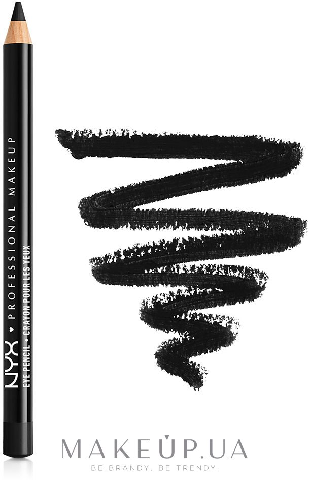 Карандаш для глаз - NYX Professional Makeup Slim Eye Pencil — фото N2