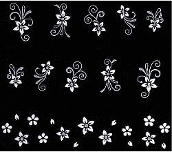 Духи, Парфюмерия, косметика Наклейки для дизайна ногтей - Peggy Sage Decorative Nail Stickers Twilight Chic