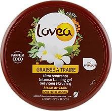 Духи, Парфюмерия, косметика Интенсивный гель для загара с запахом кокоса - Lovea Intense Tanning Gel