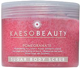 "Духи, Парфюмерия, косметика Сахарный скраб для тела ""Гранат"" - Kaeso Pomegranate Sugar Body Scrub"
