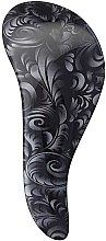 Духи, Парфюмерия, косметика Щетка для распутывания волос - KayPro Dtangler Brush Black Flower