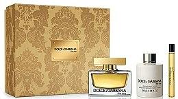 Духи, Парфюмерия, косметика Dolce & Gabbana The One - Набор (edp/75ml + b/lot/100ml + edp/10ml)