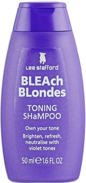 Увлажняющий шампунь для осветленных волос - Lee Stafford Bleach Blonde Shampoo