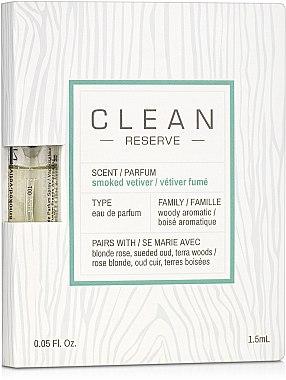 Clean Reserve Smoked Vetiver - Парфюмированная вода (пробник)