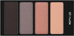Духи, Парфюмерия, косметика Четырехцветные тени для век - Clarins Palette 4 Couleurs (тестер)