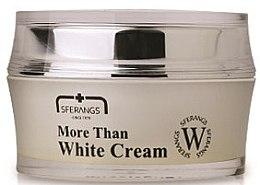 Духи, Парфюмерия, косметика Депигментирующий крем для лица - Sferangs More Than White Cream