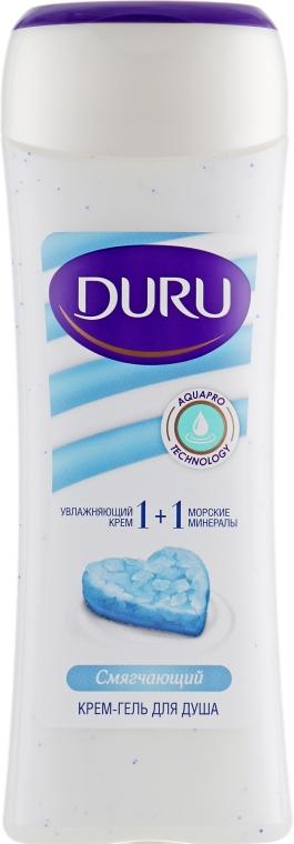 """Крем-гель для душа смягчающий """"Морские минералы"""" - Duru 1+1 Soft Sensations"""
