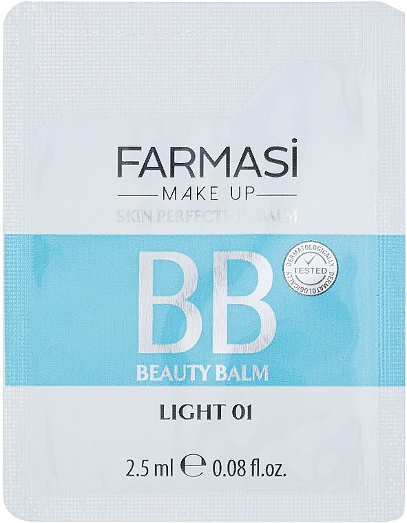 Тональный ВВ крем - Farmasi All in One Beauty Balm 7 in 1 (пробник)