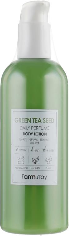 Парфюмированный лосьон для тела с экстрактом зеленого чая - FarmStay Green Tea Seed Daily Perfume Body Lotion