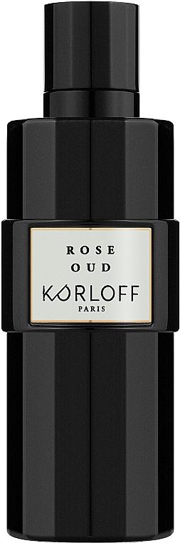 Korloff Paris Rose Oud - Парфюмированная вода (тестер с крышечкой)