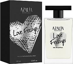 Духи, Парфюмерия, косметика Azalia Parfums Love Feelings Silver - Парфюмированная вода