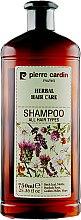 Духи, Парфюмерия, косметика Травяной шампунь для всех типов волос - Pierre Cardin Herbal Shampoo For All Hair Types