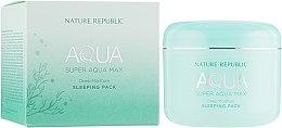 Духи, Парфюмерия, косметика Увлажняющая ночная маска для лица - Nature Republic Super Aqua Max Deep Moisture Sleeping Pack