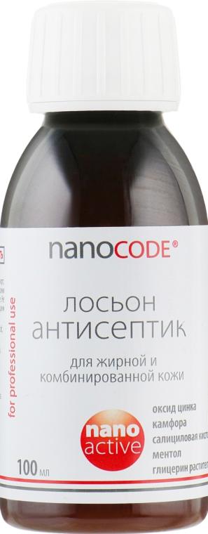 """Лосьон """"Антисептик"""" для жирной и комбинированной кожи - NanoCode Activ Lotion"""
