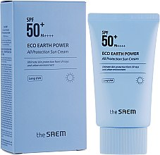 Духи, Парфюмерия, косметика Солнцезащитный крем SPF50+ PA++++ - The Saem Eco Earth Power All Protection Sun Cream
