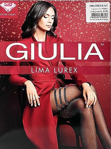 """Колготки для женщин """"Lima Lurex"""" 20 Den, nero - Giulia"""