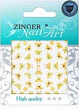 Духи, Парфюмерия, косметика Наклейки для дизайна ногтей, fda-202 - Zinger Nail Art Sticker