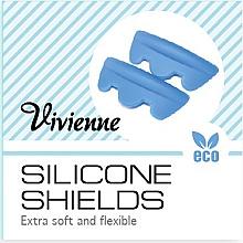 Духи, Парфюмерия, косметика Силиконовые бигуди для ламинирования ресниц синие, размер SS - Vivienne Silicone Shields SS