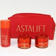 Духи, Парфюмерия, косметика Дорожный набор для лица - Astalift (cr/15ml + cr/15ml + milk/30ml)