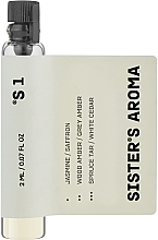Духи, Парфюмерия, косметика Sister's Aroma 1 - Парфюмированная вода (пробник)